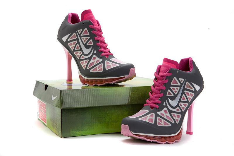 the best attitude 21a59 b4343 nike talons femmes,2013 femmes nike dunk pas cher talons mode britannique  exquis gris pink