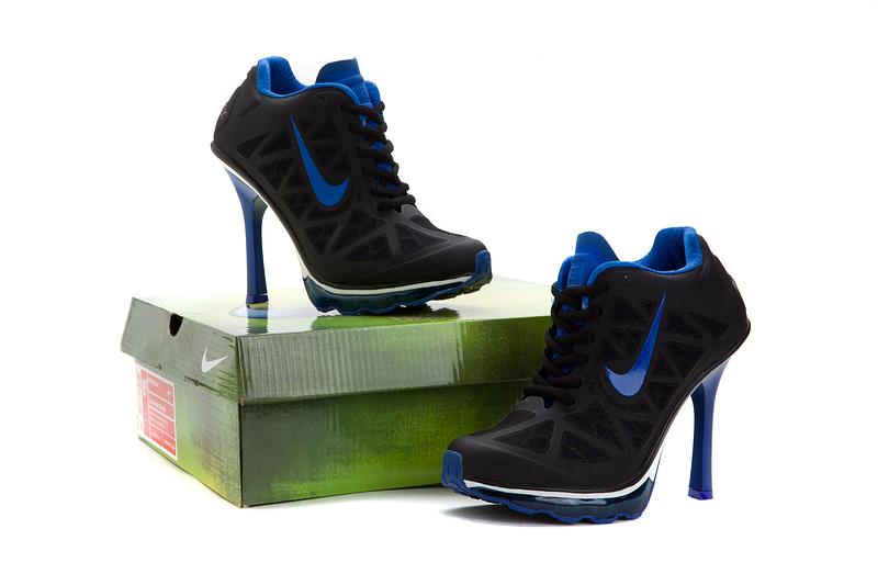 differently 4e729 700a1 98.00EUR, nike talons femmes,2013 femmes nike dunk pas cher talons mode  britannique exquis noir bleu