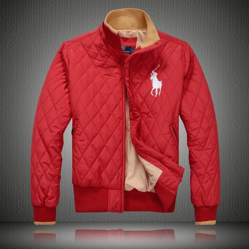 Polo Doudoune homme pas cher France concepteur populaire Rouge f06168d1b45