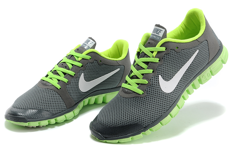 énorme réduction 2314c f58a8 shopping nike free trainer 5.0 gris and vert d1c15 4ce6e