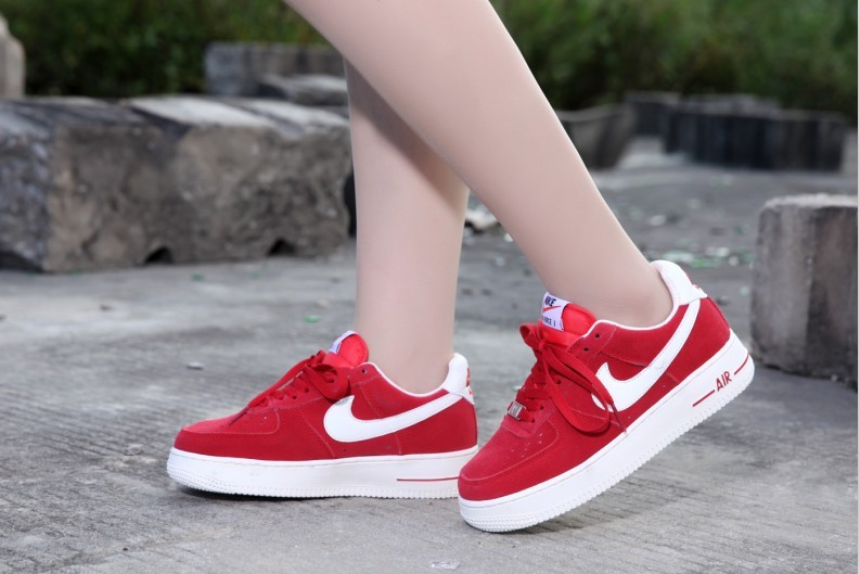 low priced 2a544 18804 2014 nike air force 1 hommes femme etoile mode pas cher rouge Luxe vedette  PARIS style www.sac-lvmarque.com