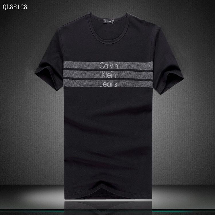 2014 Tee Shirt Calvin Klein Homme Short Sleeve Classic Pas Cher 8865