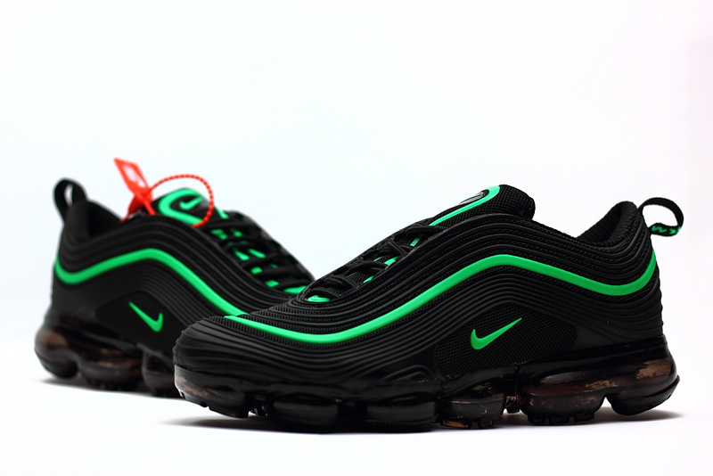 buy online cca99 eefe8 2018 nike air vapormax 97 sneakers black grass green Luxe vedette PARIS  style www.sac-lvmarque.com