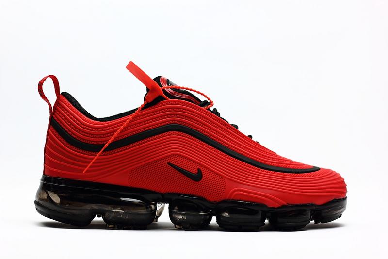 pretty nice bd497 4810f 2018 nike air vapormax 97 sneakers red black