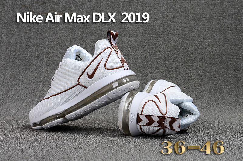 best value 42768 75ccf baskets nike air max dlx 2019 shoes de running coffe white Luxe vedette  PARIS style www.sac-lvmarque.com