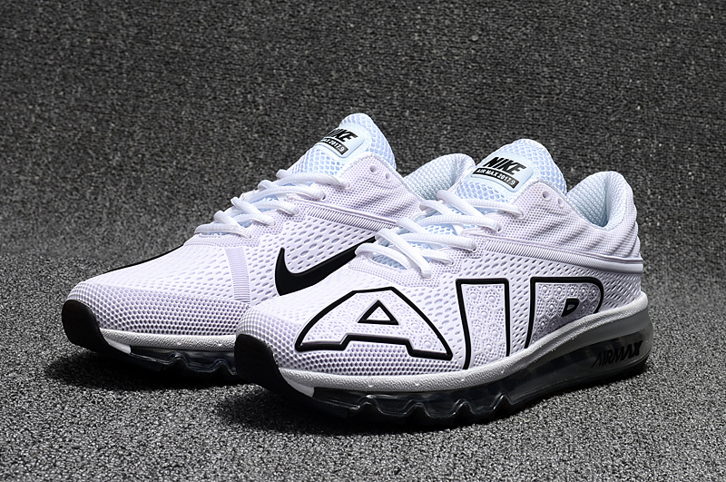 c4cf299bf5e baskets basses nike air max flair colorways white black