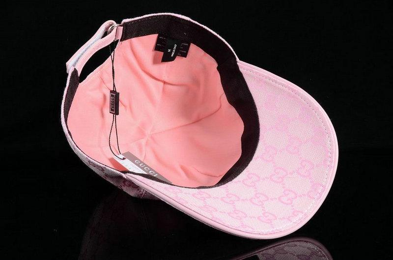 casquette discount gucci caps italie simple pink 7f656ce2fe9
