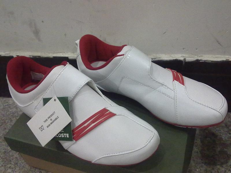 buy popular 2b3f6 19970 53.00EUR, Lacoste chaussure femme,chaussures lacoste pas cher nouveau  concepteur exquis 0061 rouge blanc