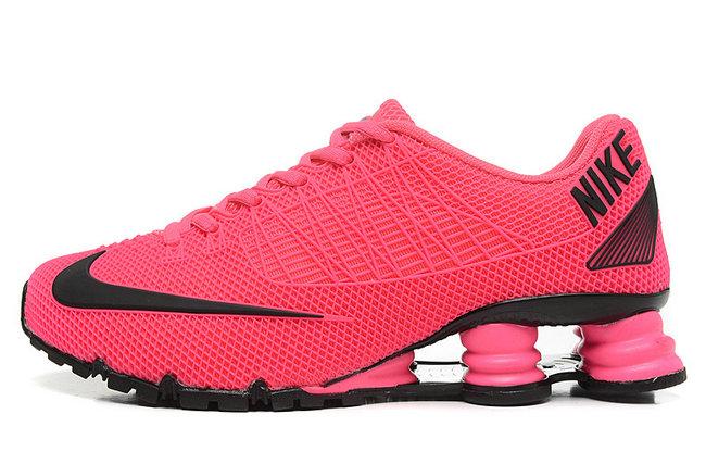 f1e32f5b34c4 ... nike shox rivalry womenhot sale nike shox turbo 21 womens 2017 peach  red shop classic nike shox deliver hyper pink black womens running shoes  sneakers ...