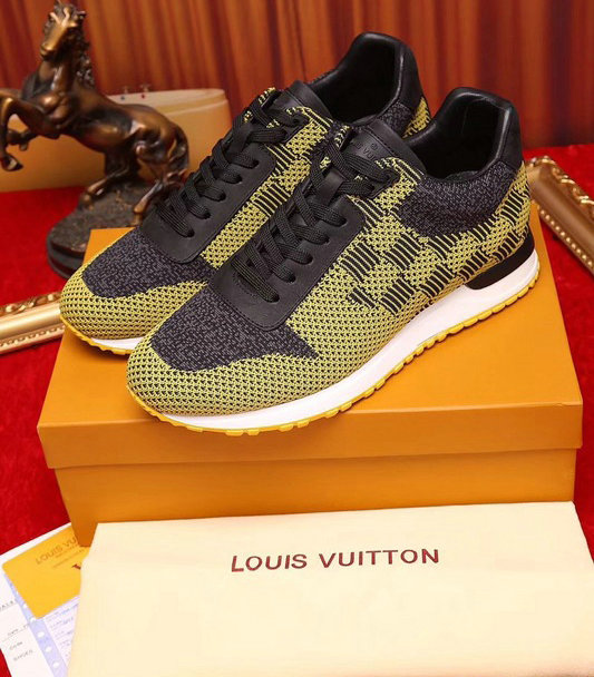 grande remise officiel Achat louis vuitton sneaker run away hommes souliers sheep leather ...