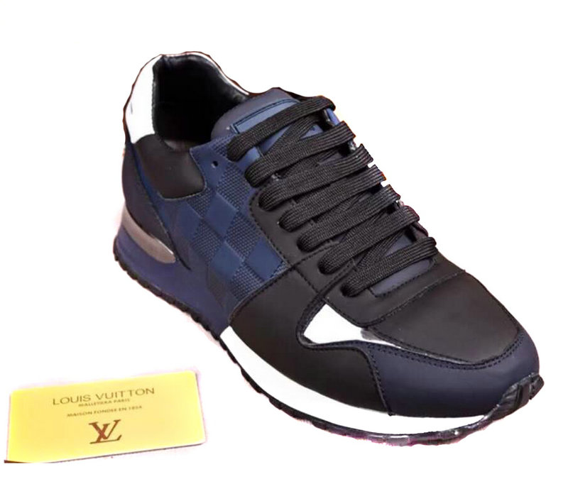 louis vuitton sneaker run away hommes souliers grid 3db6183d401