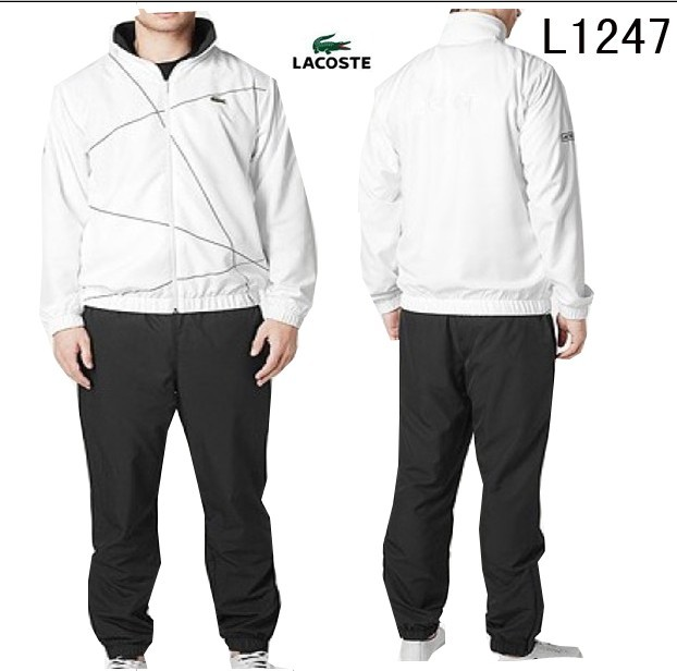 b987c6689f $80.24, Lacoste Suit man - page3,lacoste sport wear survetement man 2013  classic l1247 blanc noir