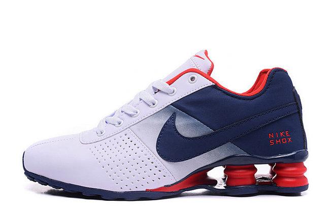 low priced 34c7e 04ecb 49.00EUR, NIKE SHOX NZ Men,leather shox deliver formation shoes de sport  blue heel