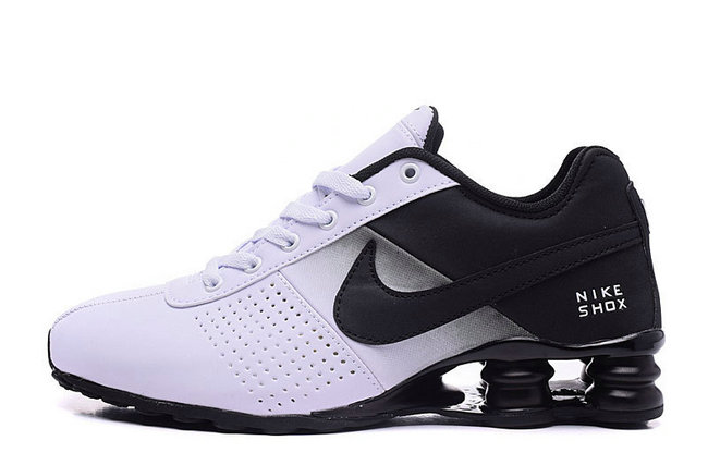 check out 25d8f 2c9ff NIKE SHOX NZ Men,leather shox deliver formation shoes de sport classic  black white