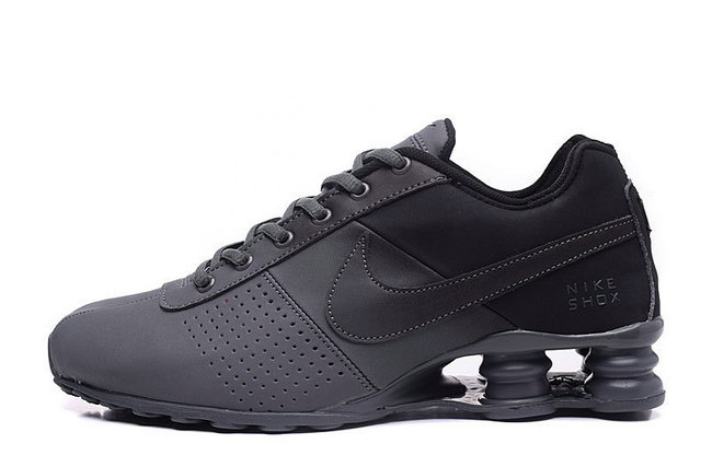best authentic 7d0d8 d69bf NIKE SHOX NZ Men,leather shox deliver formation shoes de sport espace gris