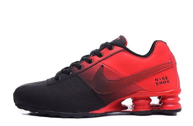 uk availability 6cfd3 a1f2b 49.00EUR, NIKE SHOX NZ Men,leather shox deliver formation shoes de sport  flamme