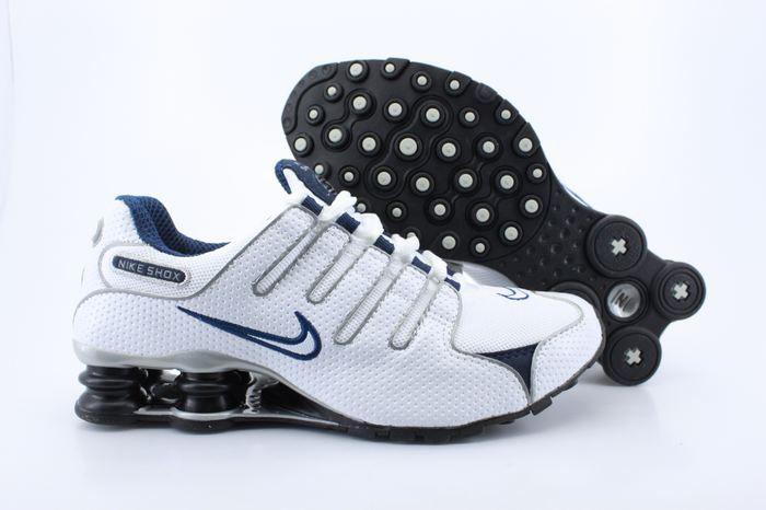 low priced 92e08 ac228 nike shox nz eu basket lv 36 de 46 taille-mode-deep blue-pas chere