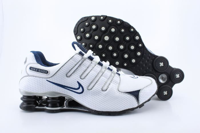 low priced 8d586 525b2 nike shox nz eu basket lv 36 de 46 taille-mode-deep blue-pas chere