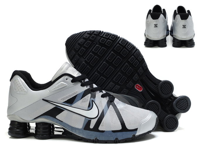sale retailer 437a5 0168e 49.00EUR, Nike Shox Roadster 12,nike shox roadster 12 hommes shoes 2013 new  style argent noir