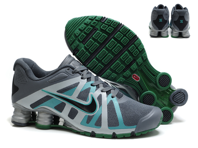 sale retailer ca6c3 2f948 49.00EUR, Nike Shox Roadster 12,nike shox roadster 12 hommes shoes 2013 new  style gris cyan