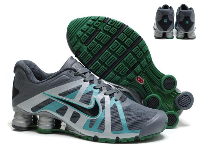 sale retailer d3b17 f8ea1 49.00EUR, Nike Shox Roadster 12,nike shox roadster 12 hommes shoes 2013 new  style gris cyan