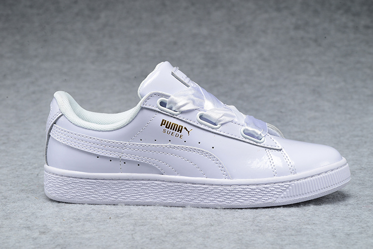 puma basket heart 2017 baskets basses blanc Luxe vedette