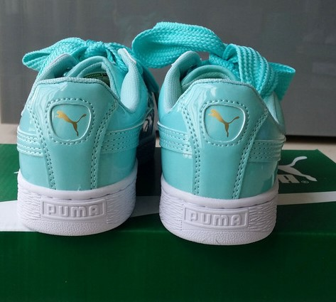 puma basket heart 2017 baskets basses green Luxe vedette