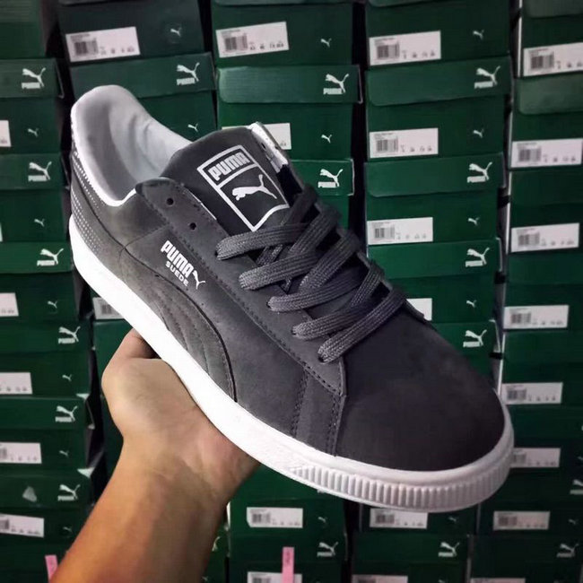 super popular 0cc86 c4da0  67.86, puma chaussures femme - page5,puma women sneakers suede basses  mixte ours gris