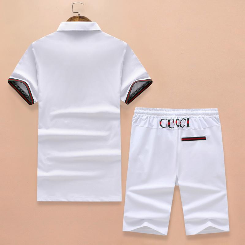 99ce7c629 survetement ensemble gucci tee shirt et shorts cat top