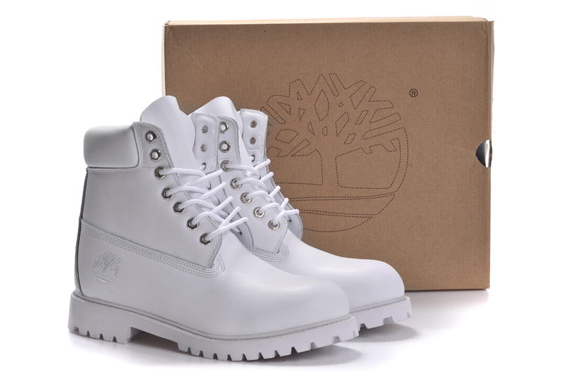 Timberland Femme Blanche Et Or