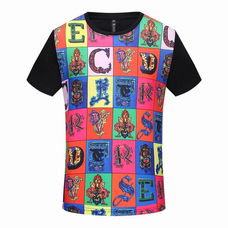 a696936db07c 29.00EUR, t-shirt VERSACE homme - page1,versace baroque medusa t-shirt  paris lettre