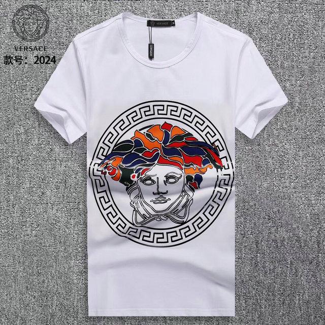 86e32b2187eb t-shirt VERSACE homme - page5,versace tee shirt luxury designer mann wear  ver151