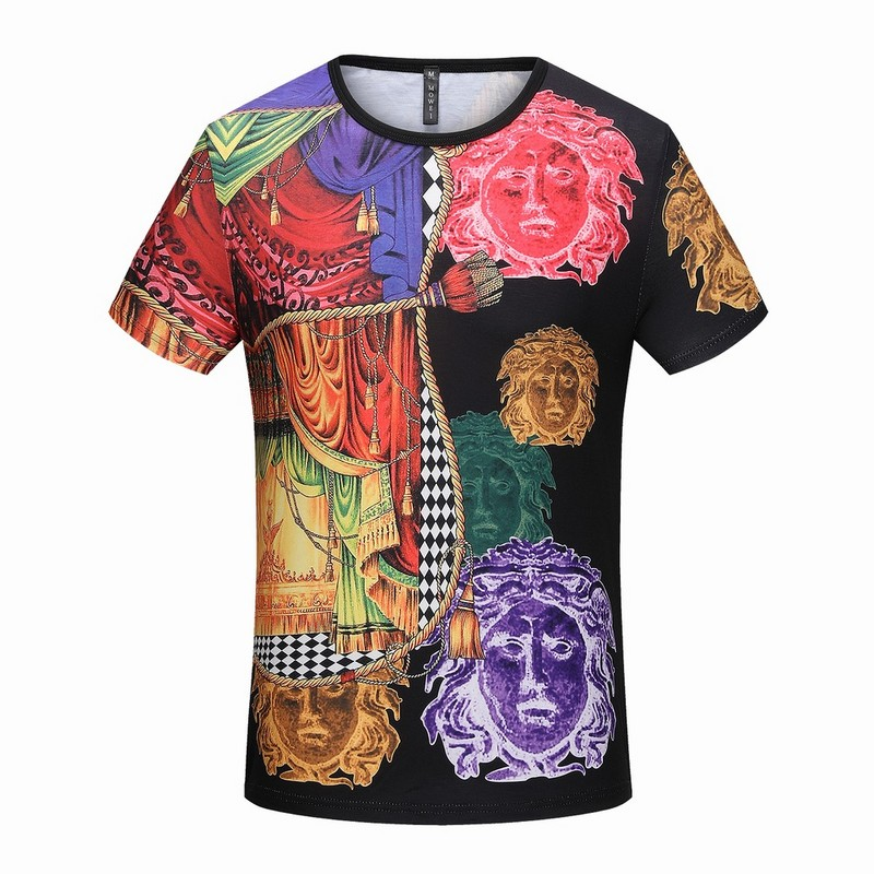 e379697e3619 t-shirt VERSACE homme - page5,versace tee shirt luxury designer mann wear  colorway