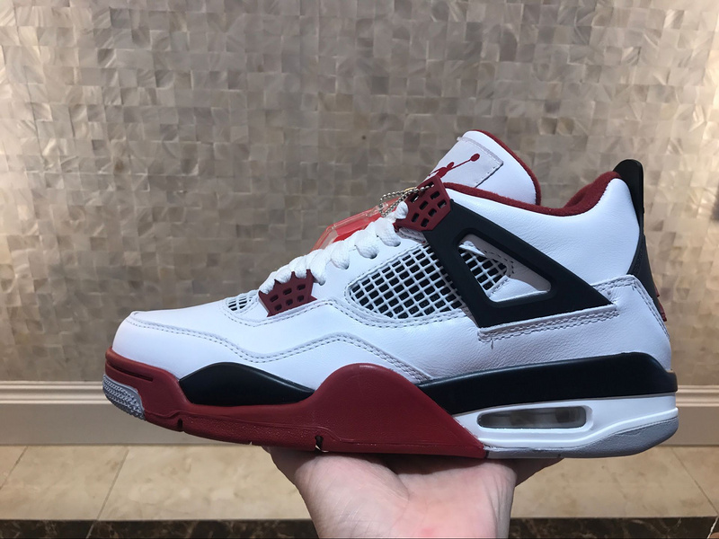 buy popular d46e3 19e1e 51.00EUR, nike air jordan 4 shoes,air jordan 4 shoes retro premium top  leather vin rouge