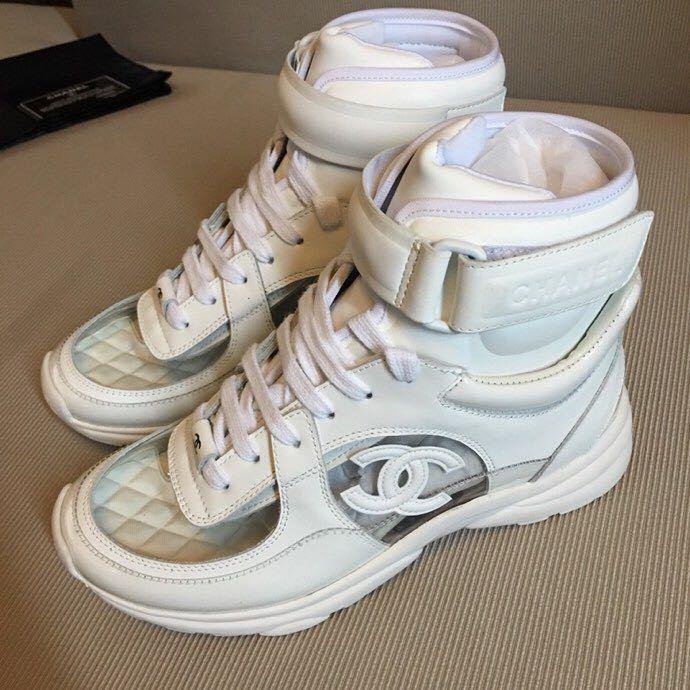 f258b622e4e2 CHANEL chaussures femmes - page7,chanel casual Schuhe frau magic sticker  gray