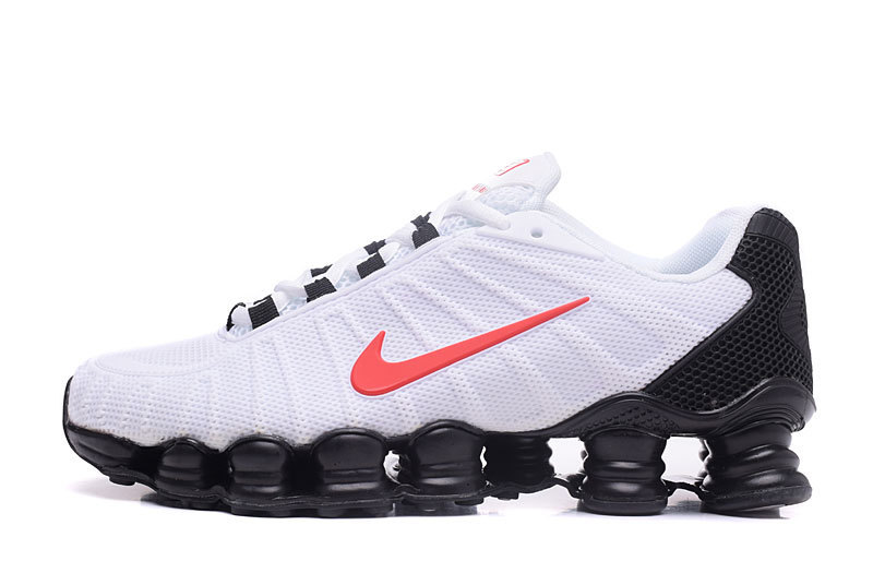 reputable site 6c19a 59ced  66.64, comfortable nike shox tlx low sneake red logo