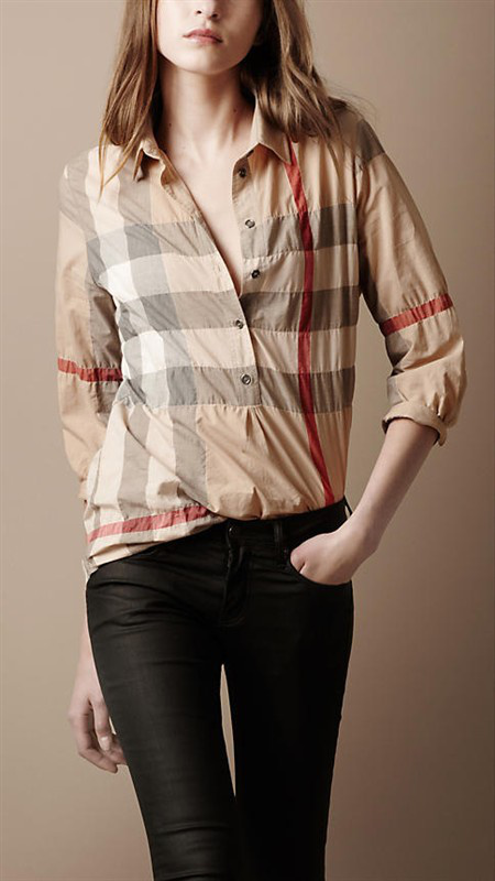 Burberry Camisas para mujeres - page5,discount burberry chemise en coton  mujer classique florid bby036 b4562494122