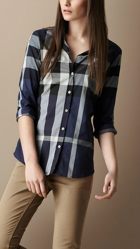 10f9a0a69163  40.66, Burberry Camisas para mujeres - page6,discount burberry chemise en  coton mujer classique florid bby037