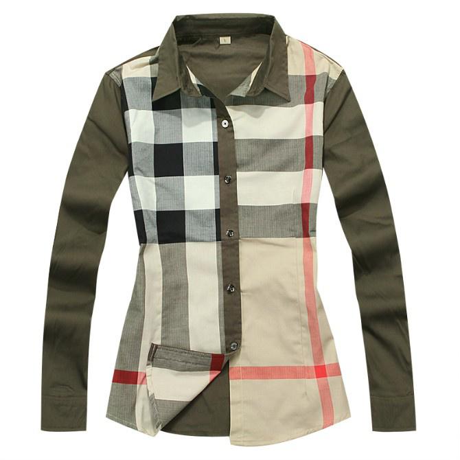 29.90EUR, Burberry Chemises femmes - page3,discount burberry chemise en  coton femmes classique florid bby078 7855658eef1