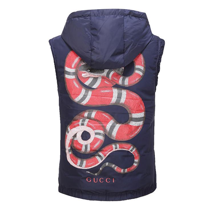 gucci veste sans manches bee python blue Luxe vedette PARIS style ... 31215dd5f09