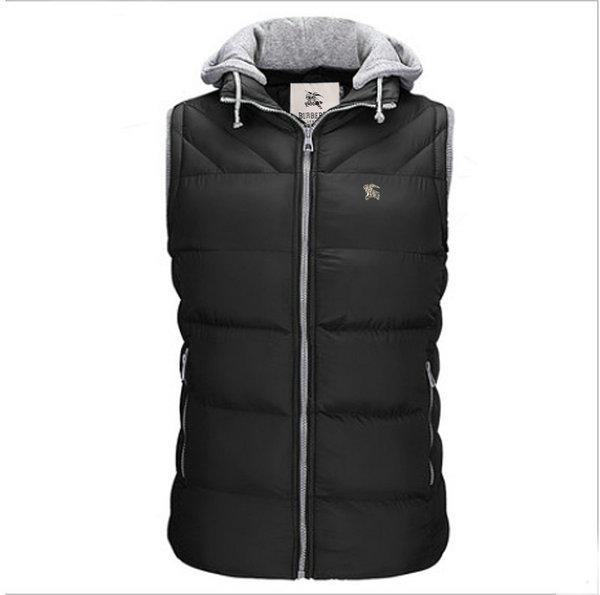 1d24fa4bd4da burberry Vest man,homme doudoune burberry sans manches sport slim noir coton