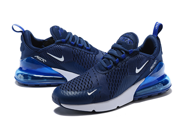 dbed6a8db5ee latest nike air max 270 trainers blue Luxe vedette PARIS style www ...