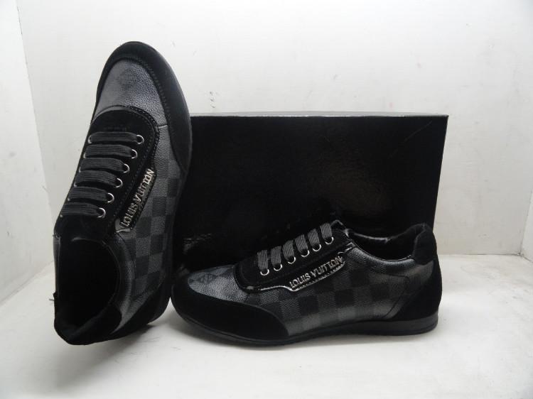 louis vuitton Homme Chaussures,louis vuitton 2013 chaussures hommes classic cuir center grid gris