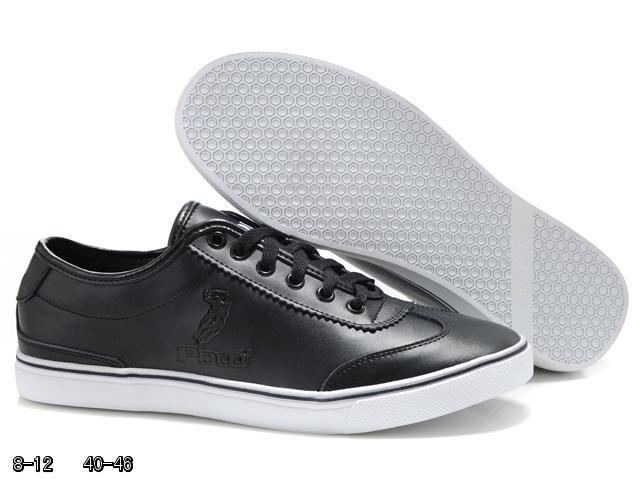 d003d5ee011c Chaussures Ralph Lauren Cuir Blanc morceauxdebois.fr