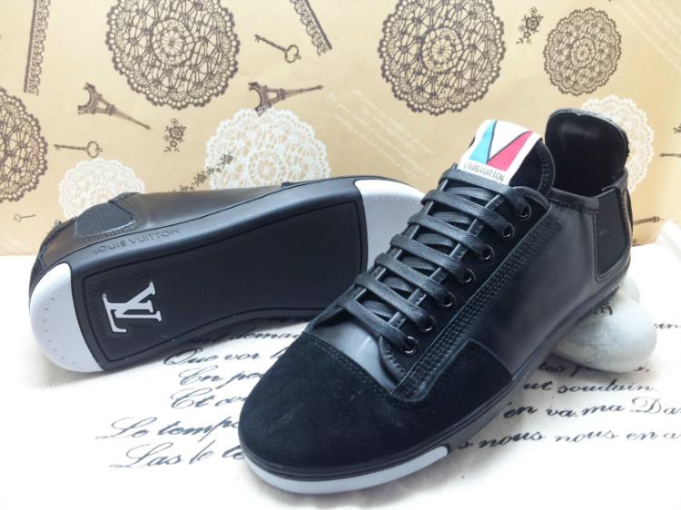 9ffaaac27ba3 hommes chaussures sport louis vuitton business casual france black cyan  Luxe vedette PARIS style www.sac-lvmarque.com