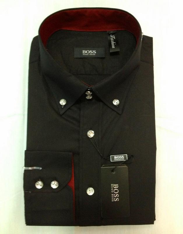 38.00EUR, boss chemise hommes,new chemise boss homme longue exquis pas cher  2132 noir,chemises 4c25c7217be