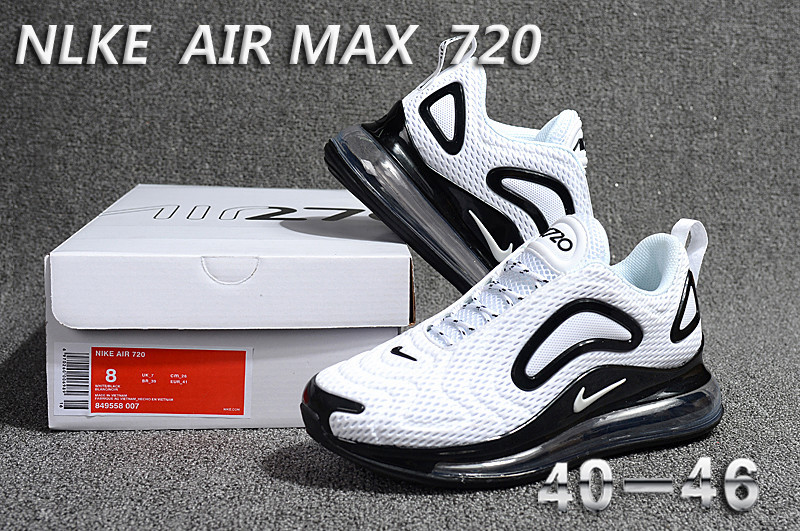 best sale cheapest price huge discount nike air max 720 soldes big air i white black Luxe vedette PARIS ...