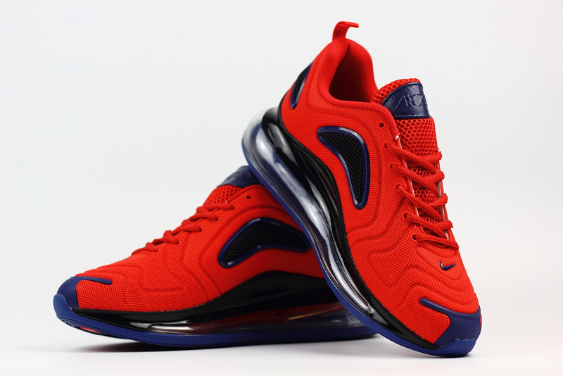 exquisite style popular brand authentic quality nike air max 720 soldes big air nano red black Luxe vedette PARIS ...