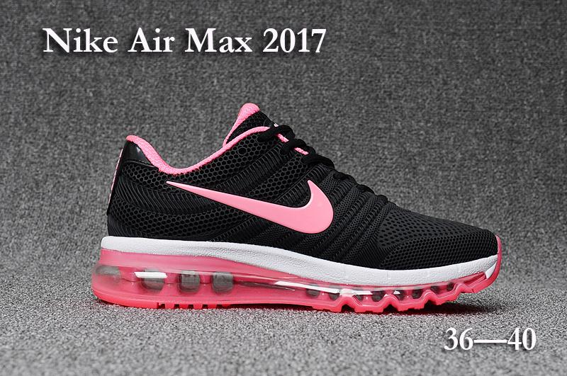 f027360e5ad nike air max 2017 femmes en promo noir pink
