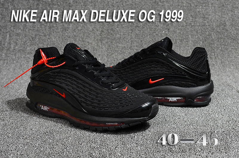 finest selection 63c7b fb224 nike air max deluxe 2018 running 1999 noir rouge,nike air max 2018  nanotechnology, running chaussure nike air max all air Luxe vedette PARIS  style ...